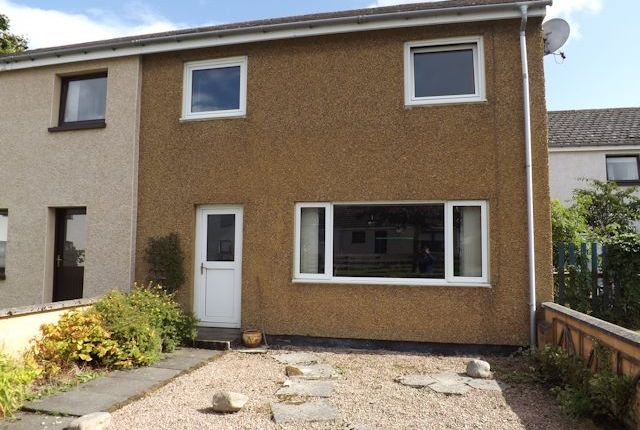 Thumbnail Semi-detached house for sale in 11 Burgage Drive, Tain