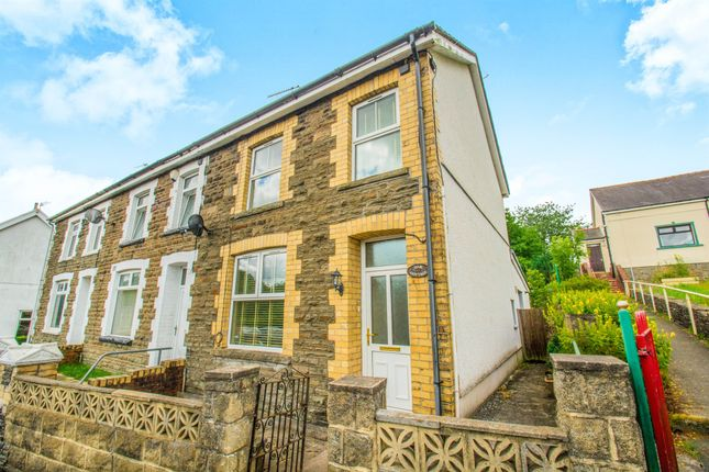 Thumbnail End terrace house for sale in Gwerthonor Road, Gilfach, Bargoed