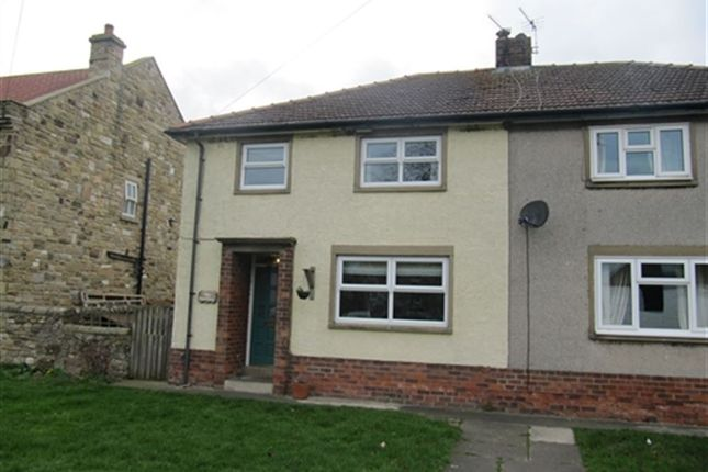 Thumbnail Semi-detached house to rent in East View, Summerhouse, Darlington