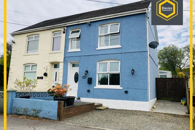 Thumbnail Semi-detached house for sale in Dynant Fach Road, Pontyberem, Llanelli