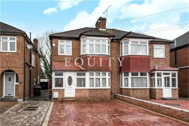Thumbnail Flat for sale in Crawley Road, Enfield