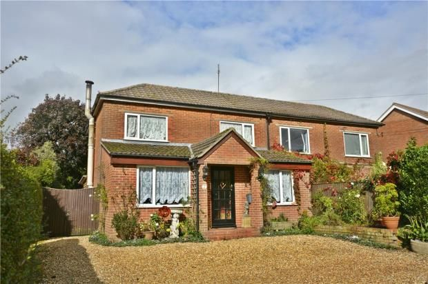 Thumbnail Semi-detached house for sale in Spring Lane, Colden Common, Winchester