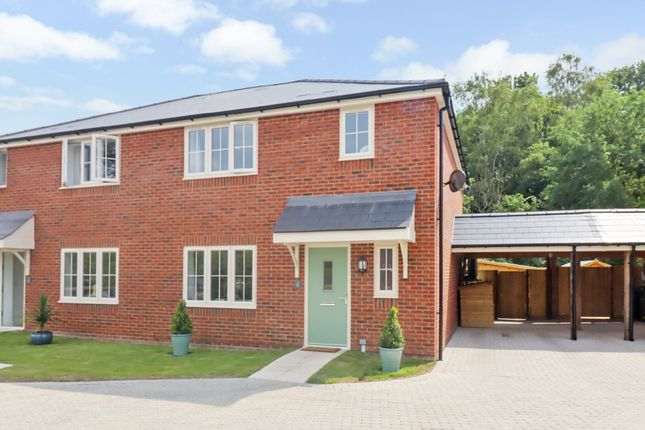 Thumbnail Semi-detached house for sale in Baker Row, Horton Heath, Eastleigh