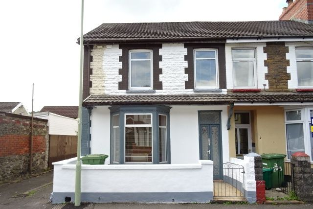 Thumbnail End terrace house to rent in Lewis Street, Treforest, Pontypridd