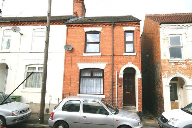 Thumbnail End terrace house to rent in Salisbury Road, Wellingborough, Northamptonshire
