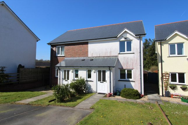 Thumbnail Semi-detached house for sale in Cwmann, Lampeter