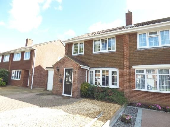 Thumbnail Semi-detached house for sale in Alverstoke, Gosport, Hampshire