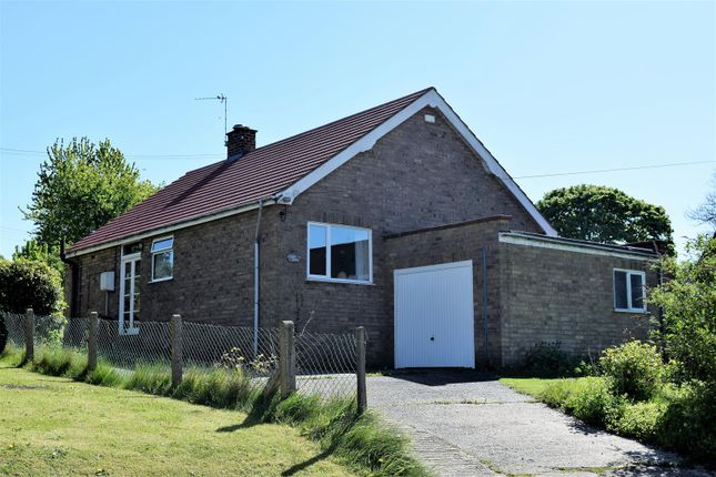 Thumbnail Bungalow for sale in School Lane, Snitterby, Gainsborough