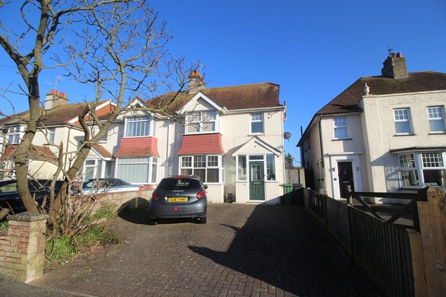 Thumbnail Semi-detached house for sale in St Anthonys Avenue, St Anthonys, Eastbourne