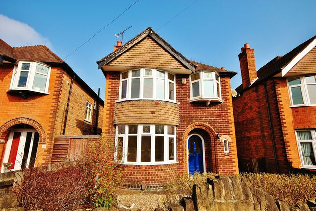 Thumbnail Detached house to rent in Hollinwell Avenue, Wollaton