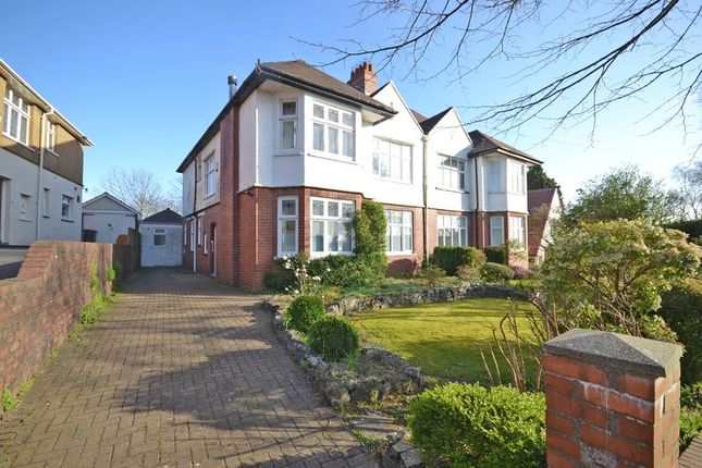Thumbnail Semi-detached house for sale in Extended Family House, Ridgeway, Newport
