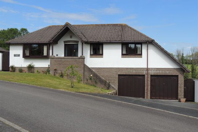 Thumbnail Detached bungalow for sale in Summerfield Close, Mevagissey, St. Austell