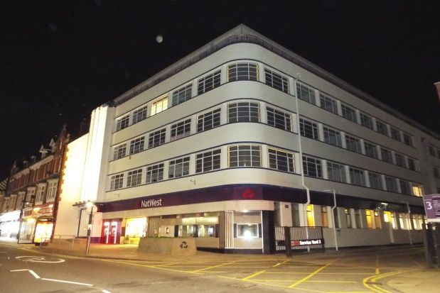 Thumbnail Flat to rent in The Napier Building, Town Centre
