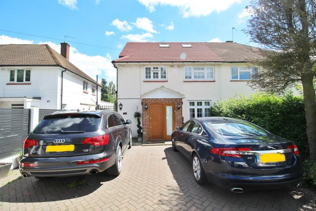 Thumbnail Semi-detached house to rent in Balmoral Drive, Borehamwood