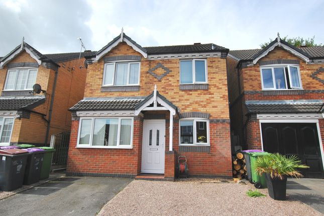 Thumbnail Detached house for sale in Bullrush Glade, St. Georges, Telford, Shropshire