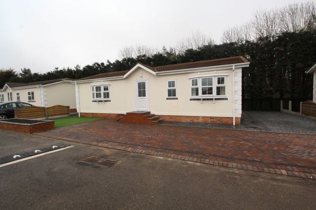 Thumbnail Bungalow for sale in Durham Residential Park, West Sherburn, Durham