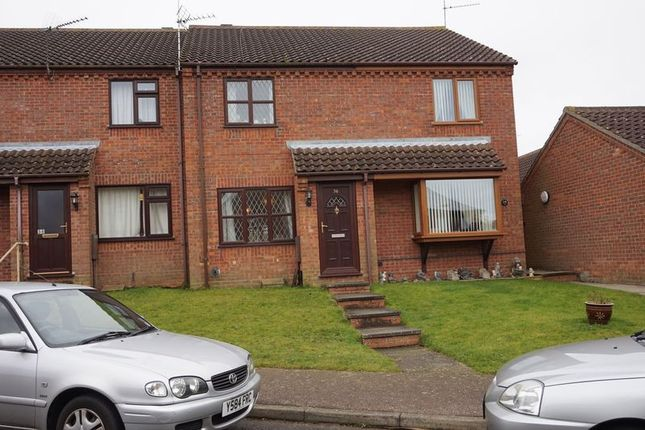 Thumbnail Terraced house to rent in Bluebell Way, Worlingham, Beccles
