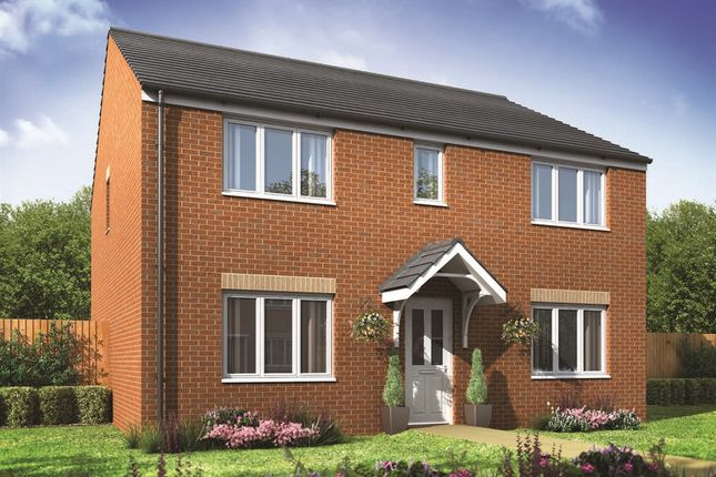 """Thumbnail Detached house for sale in """"The Hadleigh"""" at Churchfields, Hethersett, Norwich"""