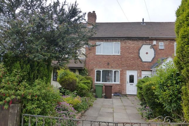 Thumbnail Terraced house to rent in York Avenue, Walsall
