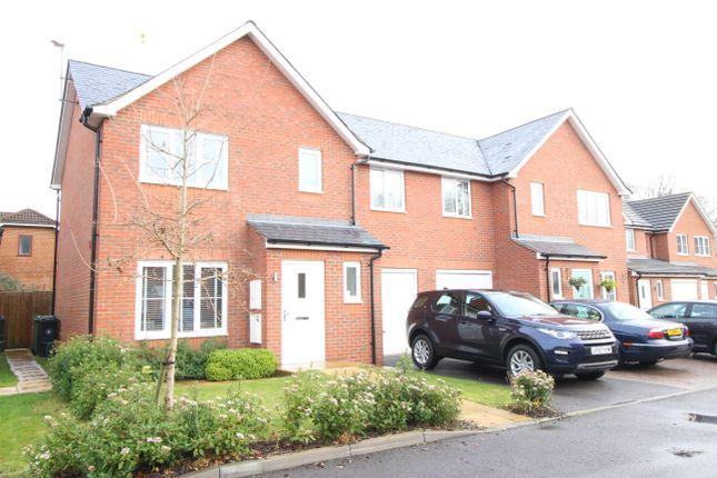 Thumbnail Semi-detached house for sale in Hazelwood, Mytchett