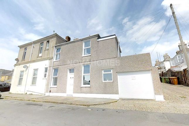 Thumbnail Semi-detached house for sale in Sea View Avenue, St Judes, Plymouth