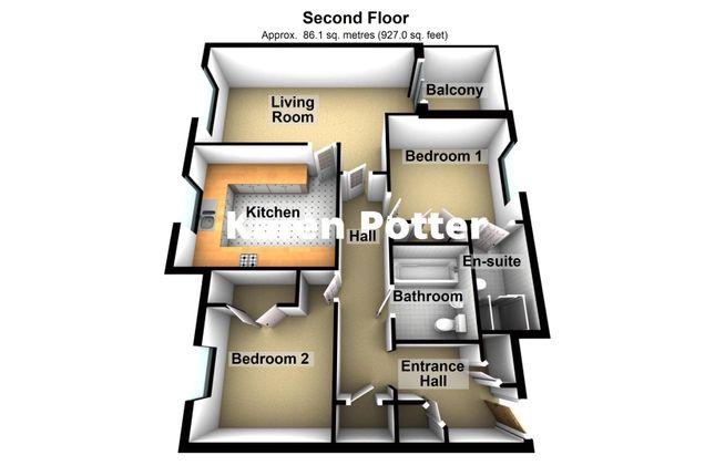 3d Floor Plan of Trafalgar Road, Birkdale, Southport PR8