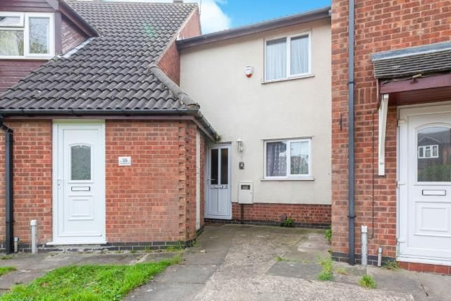 Thumbnail 2 bed terraced house for sale in Sedgefield Drive, Syston, Leicester, Leicestershire