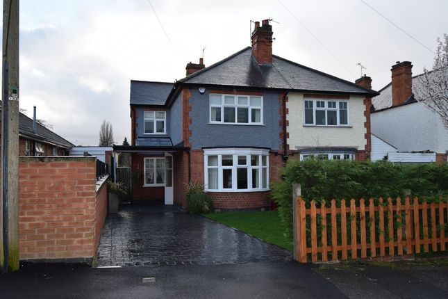 Thumbnail Semi-detached house for sale in Greenland Drive, Leicester