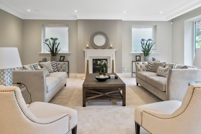 Thumbnail Detached house for sale in Cobbetts Hill, St. Georges Hill, Weybridge