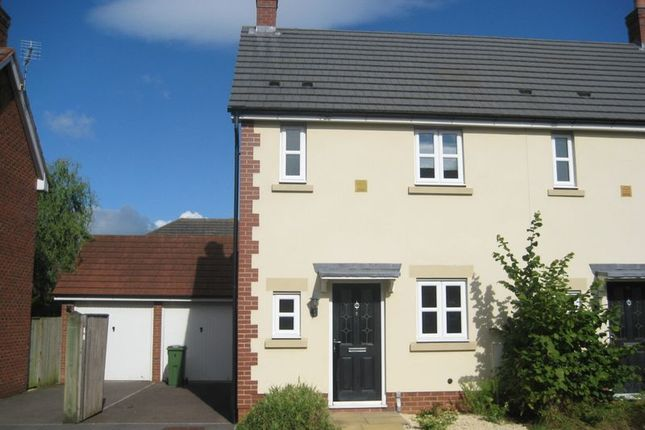 Thumbnail Semi-detached house to rent in Persimmon Gardens, Cheltenham