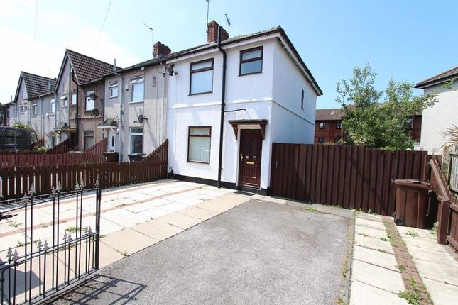 Thumbnail End terrace house to rent in Grainger Avenue, Bootle