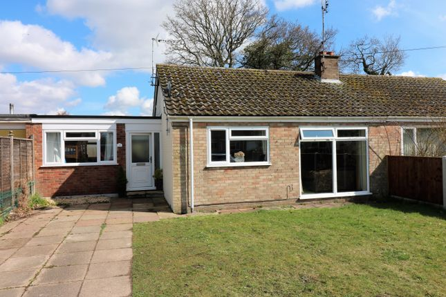 Thumbnail Semi-detached bungalow for sale in Halls Drive, Gressenhall