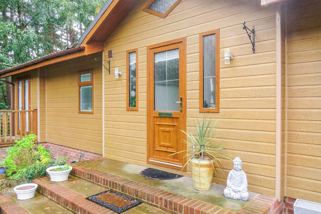 Thumbnail Lodge for sale in Hurn Road, Matchams, Ringwood