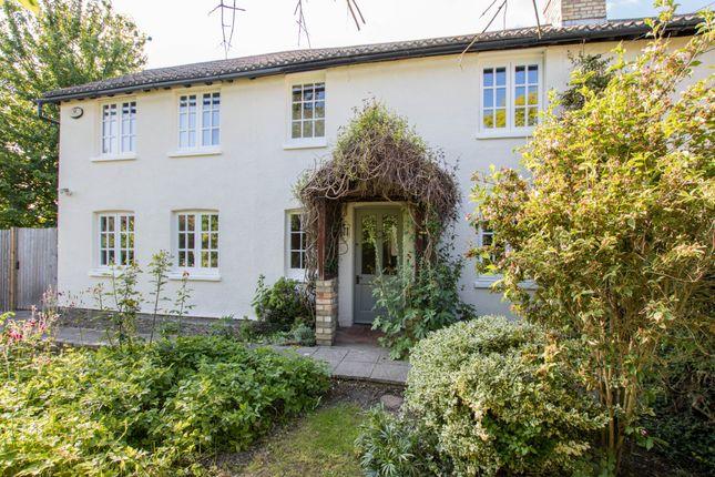 Thumbnail Semi-detached house for sale in Mill Lane, Hinxton, Saffron Walden