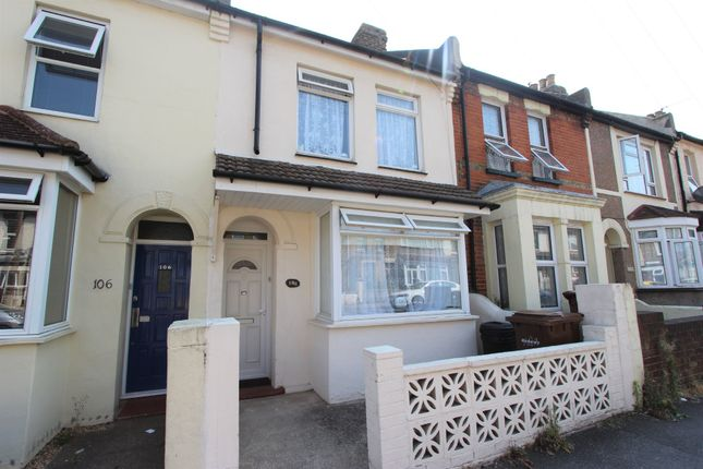 Thumbnail Terraced house to rent in Milton Road, Gillingham