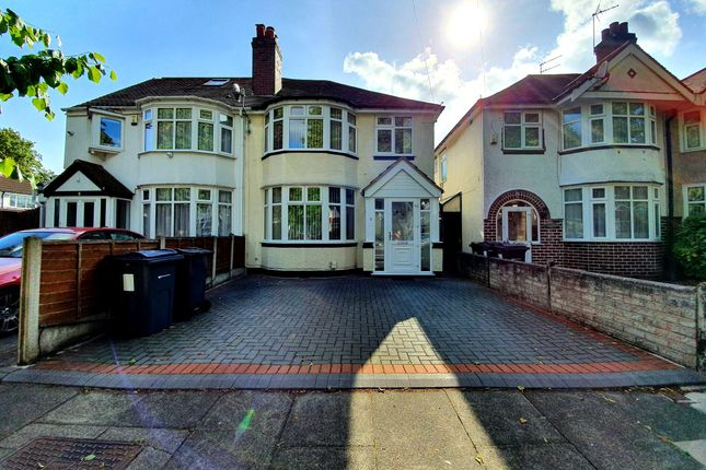 Thumbnail Semi-detached house to rent in Dewsbury Grove, Perry Barr, Birmingham