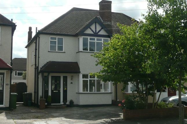 Thumbnail Semi-detached house to rent in Poole Road, West Ewell, Epsom