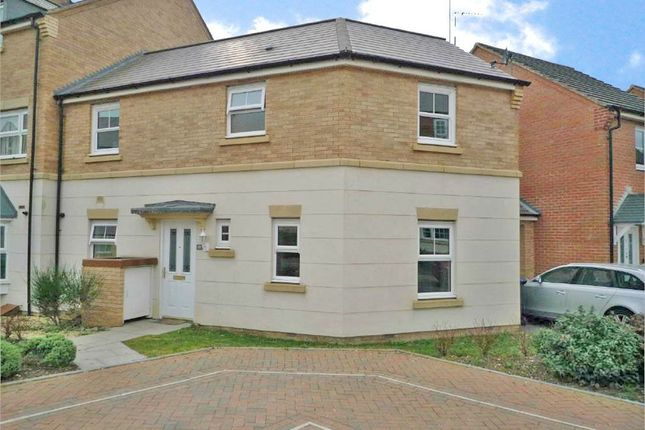Thumbnail Semi-detached house to rent in Stourhead Road, Bilton, Rugby, Warwickshire