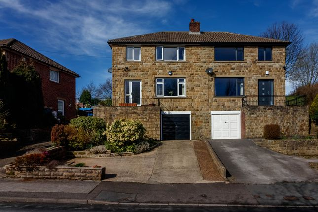 Thumbnail Semi-detached house for sale in Greenhill Bank Road, New Mill, Holmfirth