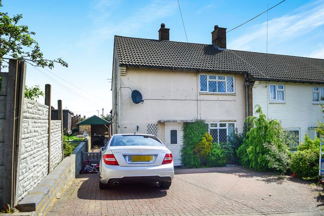 Thumbnail End terrace house for sale in Meadowlands Avenue, Eastbourne