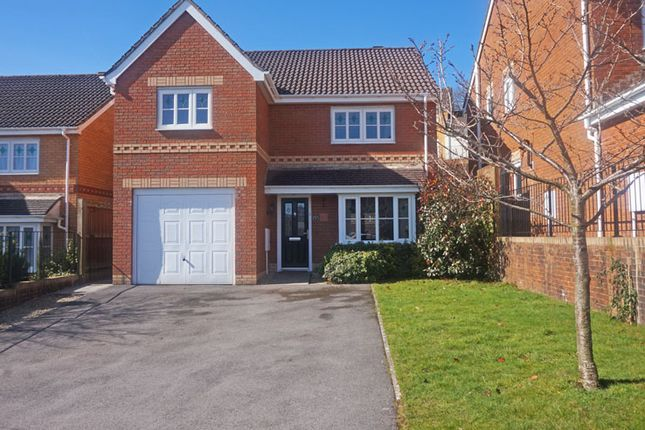Thumbnail Detached house for sale in Cae Melyn, Hengoed Hall, Hengoed