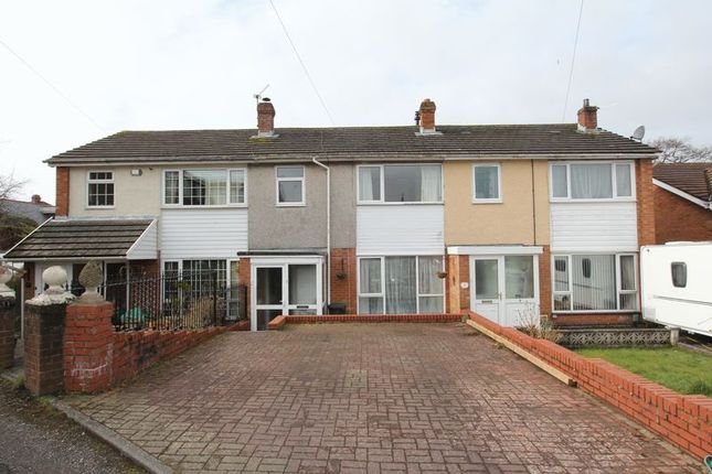 Thumbnail Terraced house for sale in St. Brannocks Close, Barry