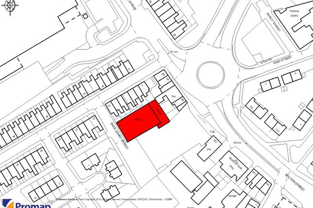 Thumbnail Land for sale in Back Ashby Street, Chorley