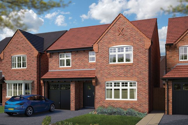 "Thumbnail Detached house for sale in ""The Lincoln"" at Heron Way, Edleston, Nantwich"