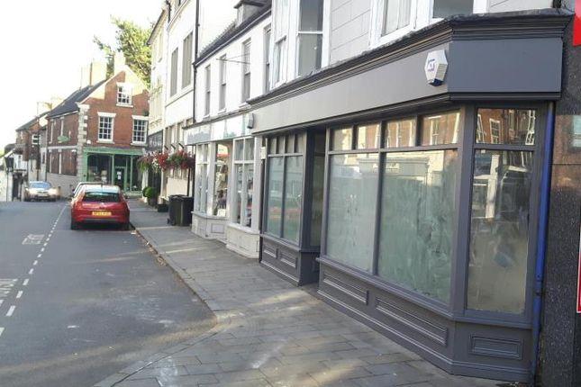 Thumbnail Retail premises to let in High Street, Market Drayton