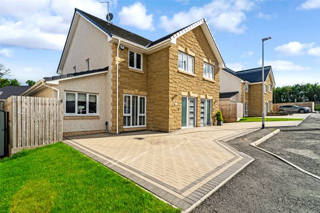 Thumbnail Semi-detached house for sale in Calderside Place, Moffat Manor, Airdrie