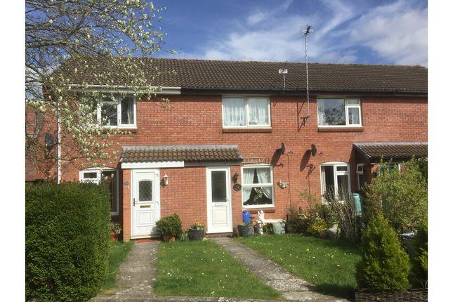 Thumbnail Terraced house for sale in Bradbury Close, Chippenham
