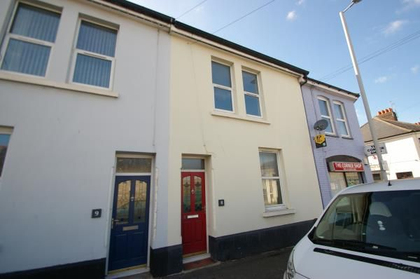 Thumbnail Terraced house for sale in Commercial Road, Plymouth