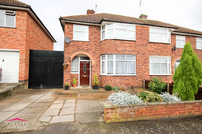 Thumbnail Semi-detached house for sale in Edenhurst Avenue, Leicester