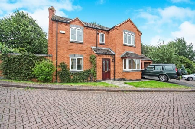 Thumbnail Detached house for sale in The Elms, Whitwick, Coalville, .
